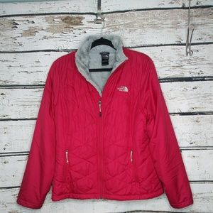 North Face Light Puffer Jacket with Fur Lining